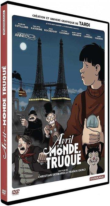 Avril et le monde truqué FRENCH BluRay 720p 2016