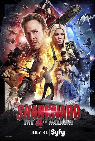 Sharknado: The 4th Awakens FRENCH DVDRIP 2016