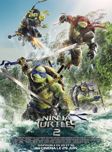 Ninja Turtles 2 FRENCH BluRay 1080p 2016
