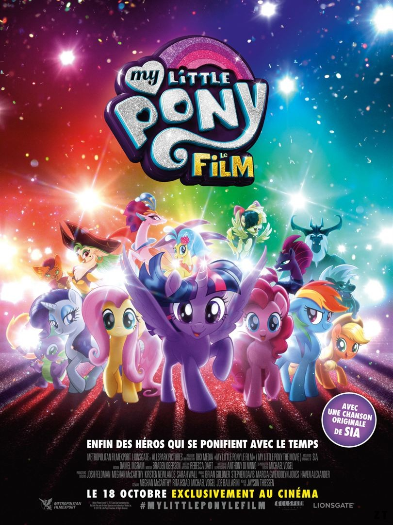 My Little Pony : le film FRENCH BluRay 720p 2017