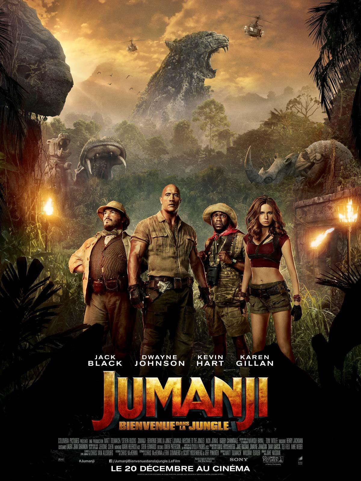 Jumanji 2 : Bienvenue Dans La Jungle FRENCH DVDSCR 2018