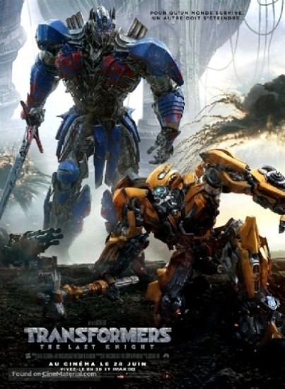 Transformers: The Last Knight FRENCH DVDRIP x264 2017
