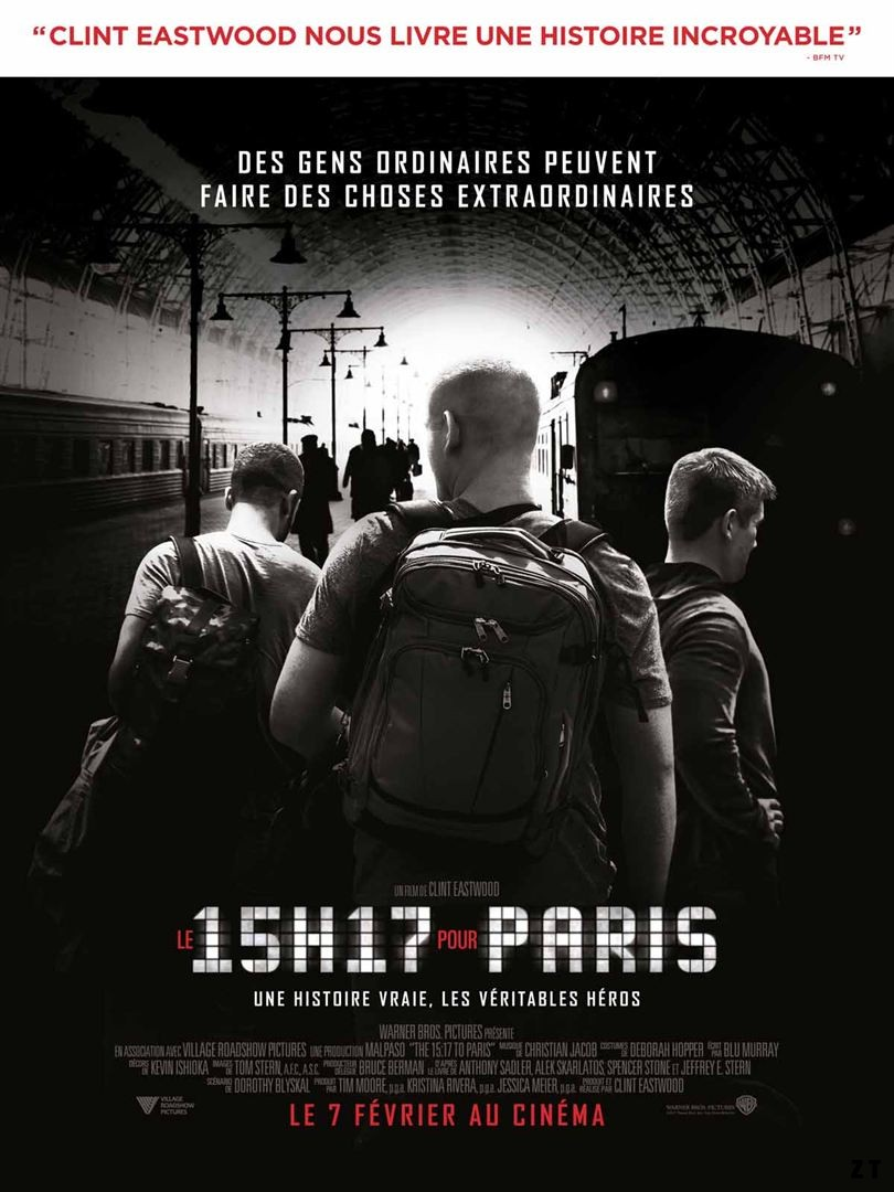 Le 15h17 pour Paris FRENCH WEBRIP 1080p 2018