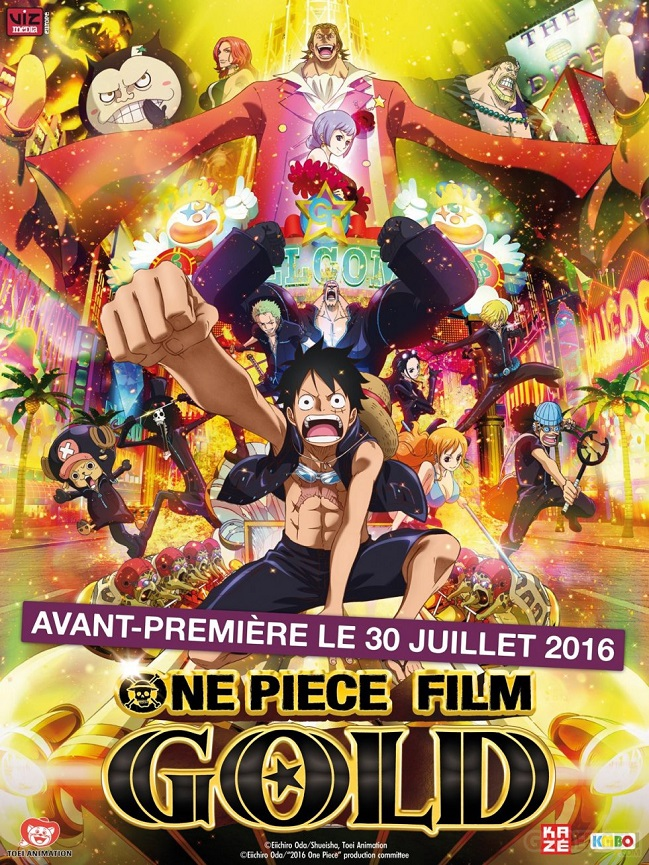 One Piece: Gold FRENCH DVDRIP x264 2017
