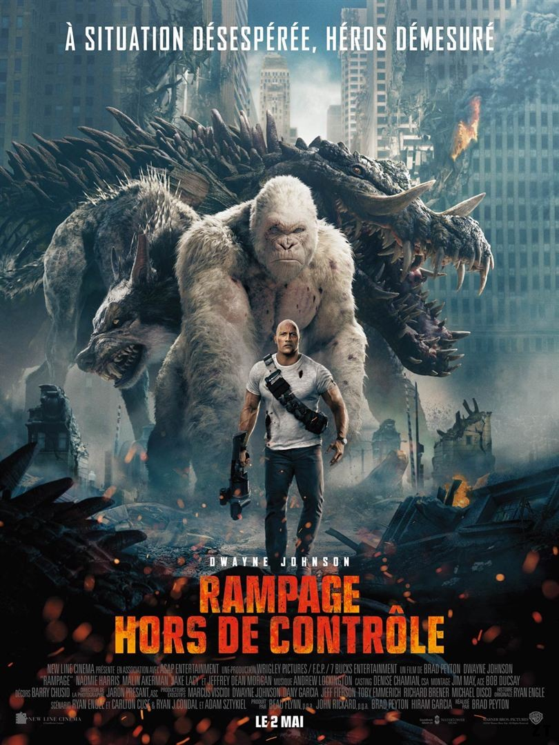 Rampage - Hors de contrôle FRENCH DVDRIP 2018