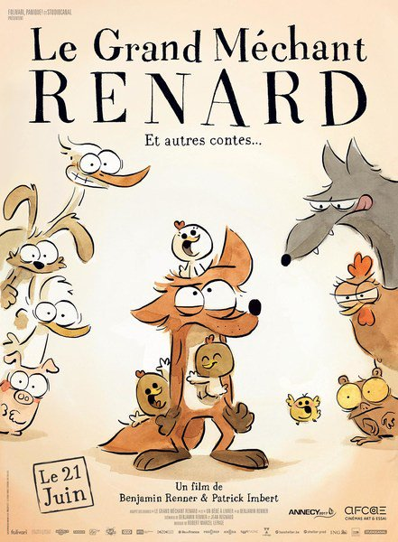 Le Grand Méchant Renard et autres contes FRENCH DVDRIP 2017