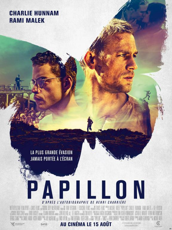 Papillon FRENCH BluRay 720p 2018