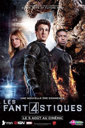 Les 4 Fantastiques FRENCH BluRay 720p 2015