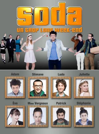 Soda Un Trop Long Week-end FRENCH DVDRIP x264 2014