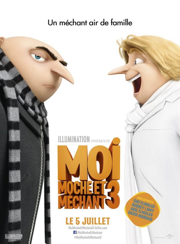 Moi, Moche et Méchant 3 FRENCH BluRay 1080p 2017