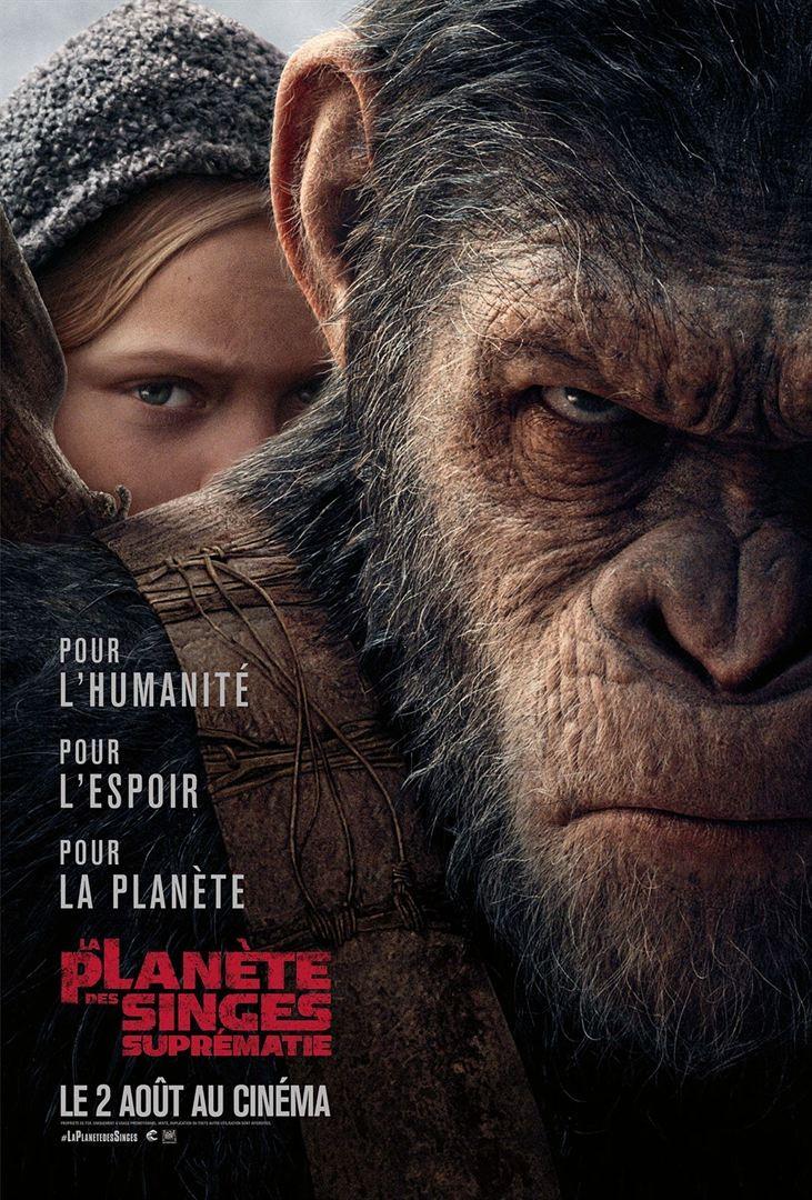 La Planète des Singes - Suprématie FRENCH BluRay 720p 2017