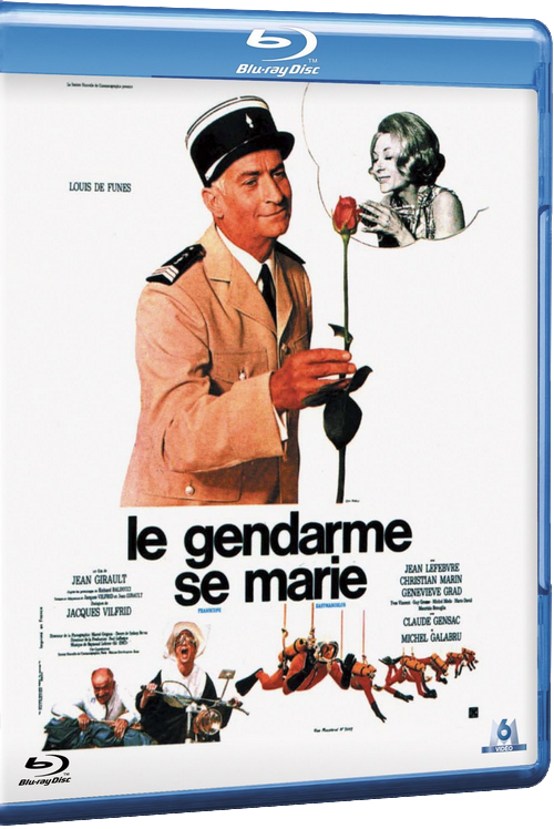 Le gendarme se marie FRENCH HDlight 1080p 1968