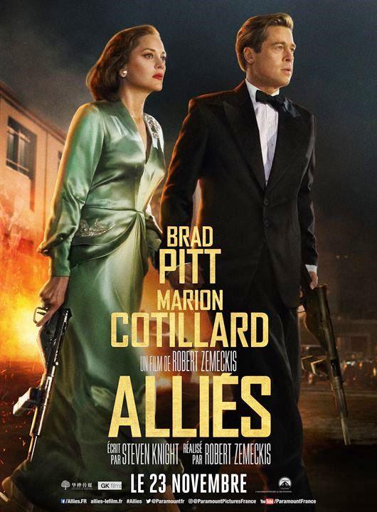 Alliés FRENCH BluRay 1080p 2017
