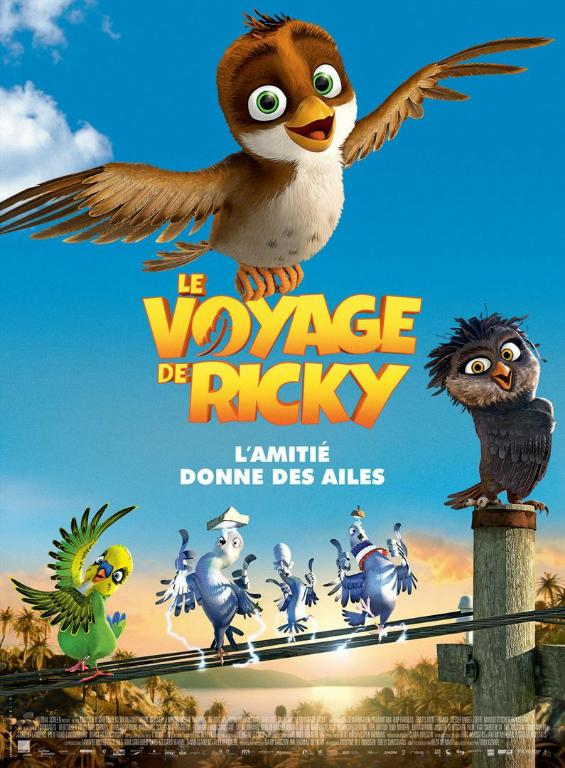 Le voyage de Ricky FRENCH DVDRIP 2018