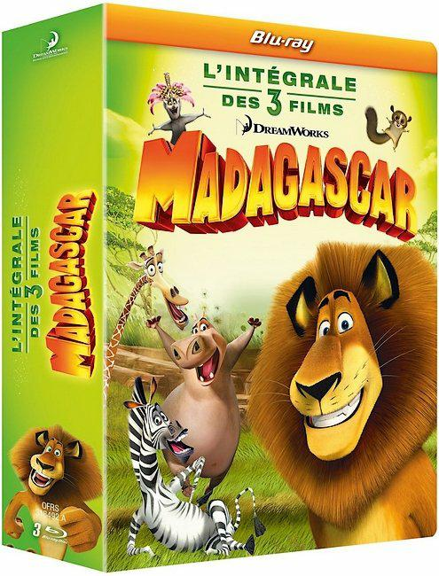 Madagascar (Trilogie) FRENCH HDlight 1080p 2005-2012