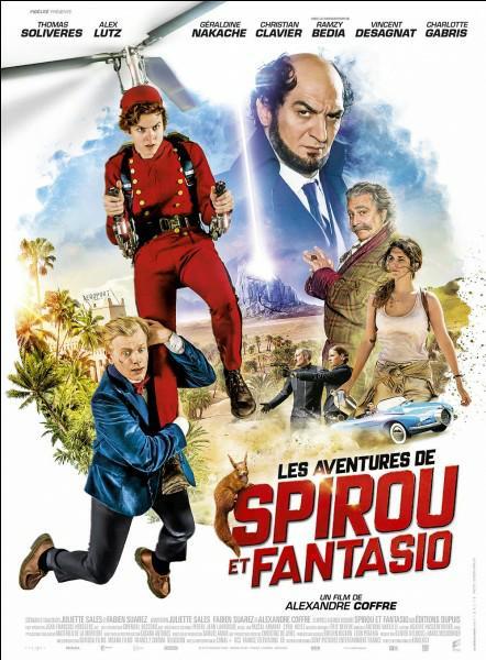 Les Aventures de Spirou et Fantasio FRENCH BluRay 1080p 2018