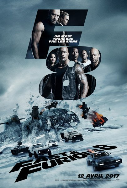 Fast & Furious 8 FRENCH BluRay 720p 2017