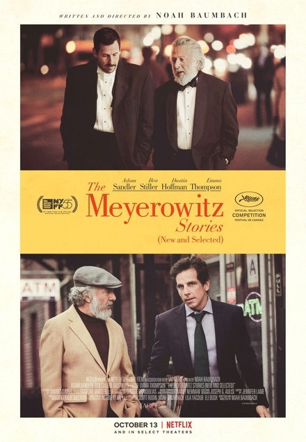 The Meyerowitz Stories (New and Selected) FRENCH WEBRIP 2017