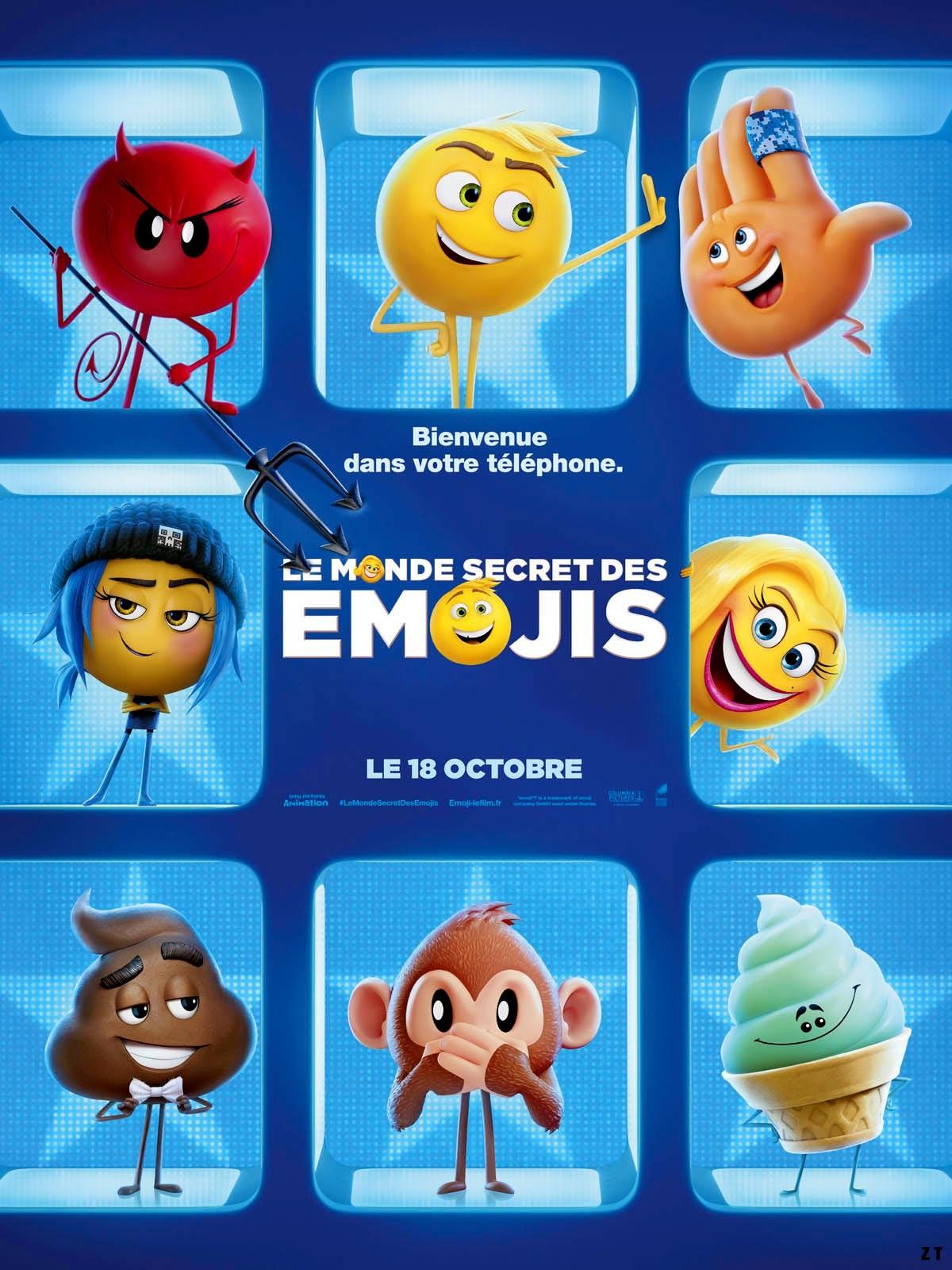 Le Monde secret des Emojis FRENCH DVDRIP 2017
