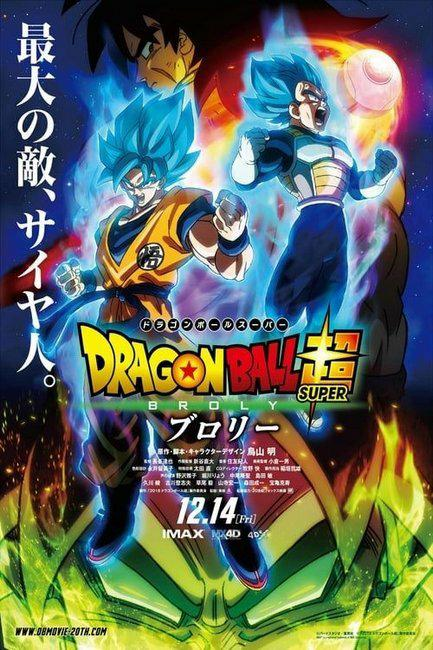 Dragon Ball Super: Broly VOSTFR HDlight 1080p 2019