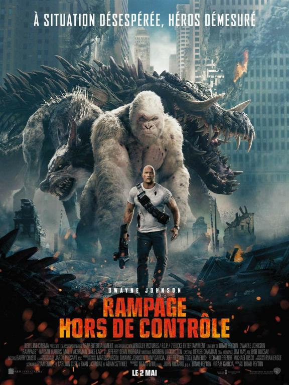 Rampage - Hors de contrôle FRENCH BluRay 720p 2018