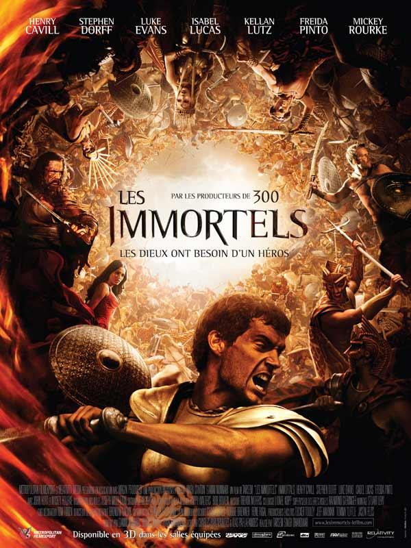 Les Immortels (Immortals) TRUEFRENCH DVDRIP 2011
