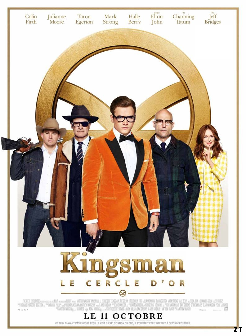 Kingsman : Le Cercle d'or FRENCH BluRay 1080p 2017