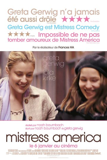 Mistress America FRENCH DVDRIP x264 2015