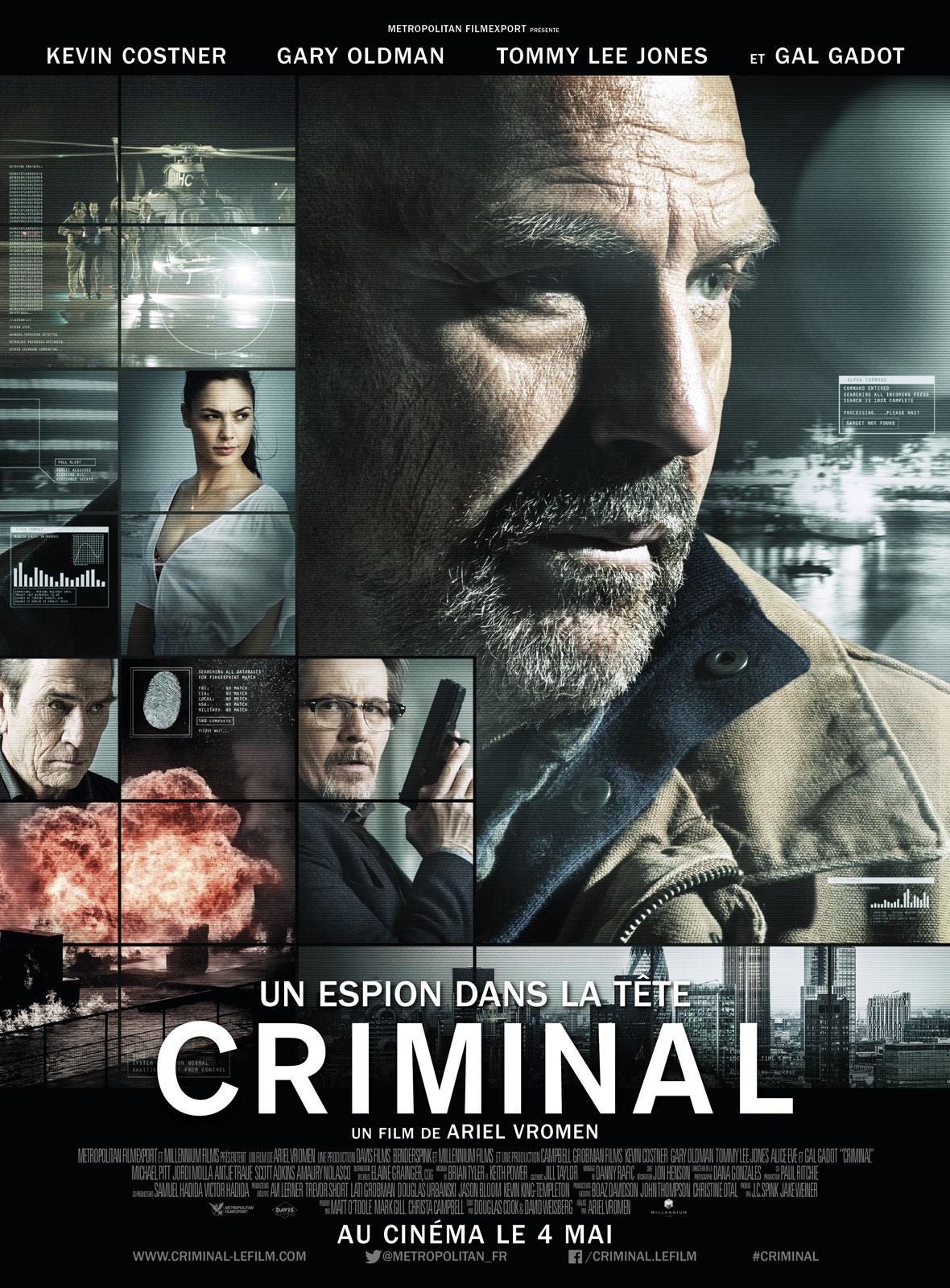 Criminal - Un espion dans la tête FRENCH DVDRIP 2016