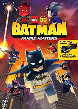 LEGO DC: Batman - Family Matters FRENCH BluRay 1080p 2019
