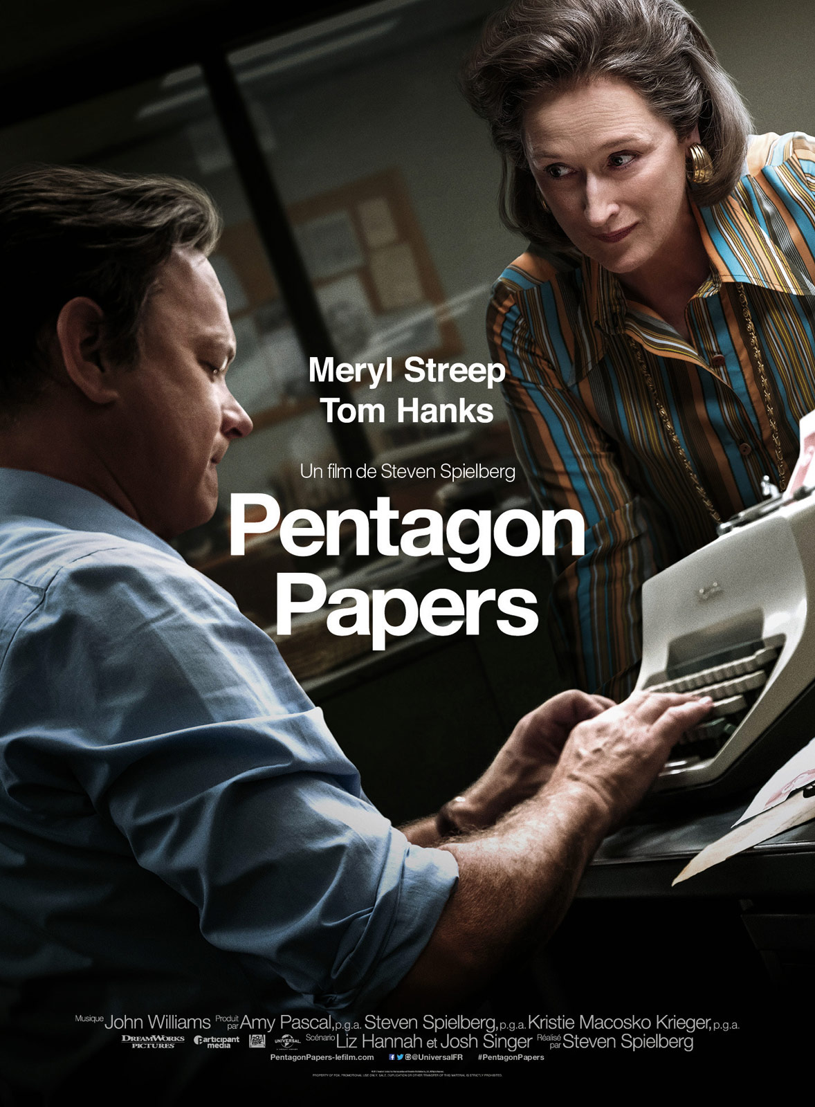 Pentagon Papers (The Post) FRENCH BluRay 720p 2018