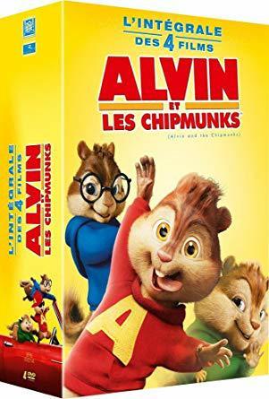 Alvin et les Chipmunks (Quadrologie) FRENCH HDlight 1080p 2007-2016