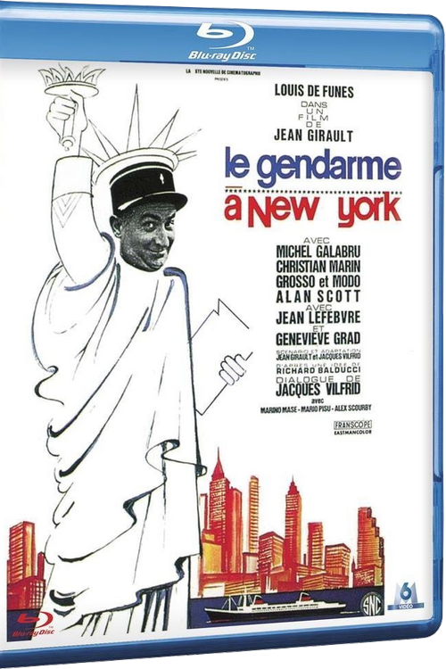 Le gendarme à New-York FRENCH HDlight 1080p 1965
