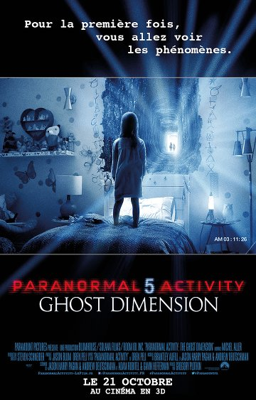 Paranormal Activity 5 Ghost Dimension FRENCH DVDRIP 2015