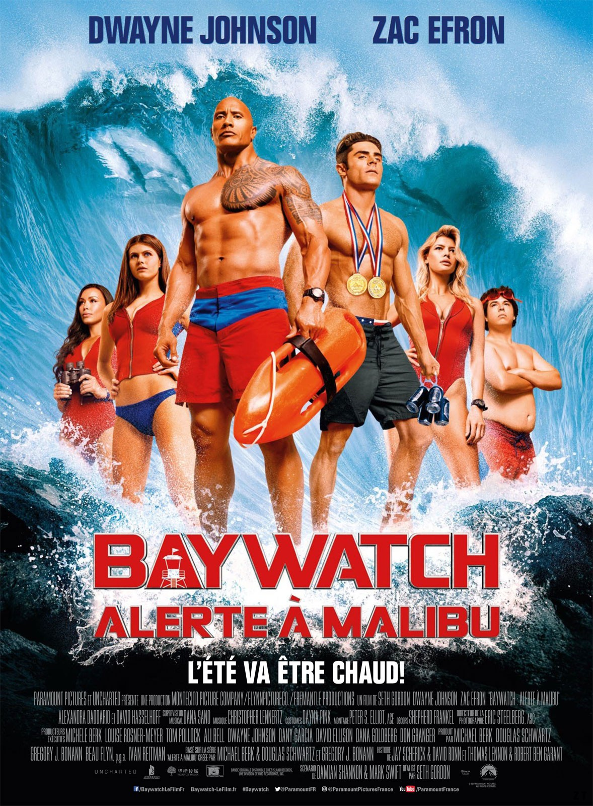 Baywatch - Alerte à Malibu FRENCH BluRay 720p 2017