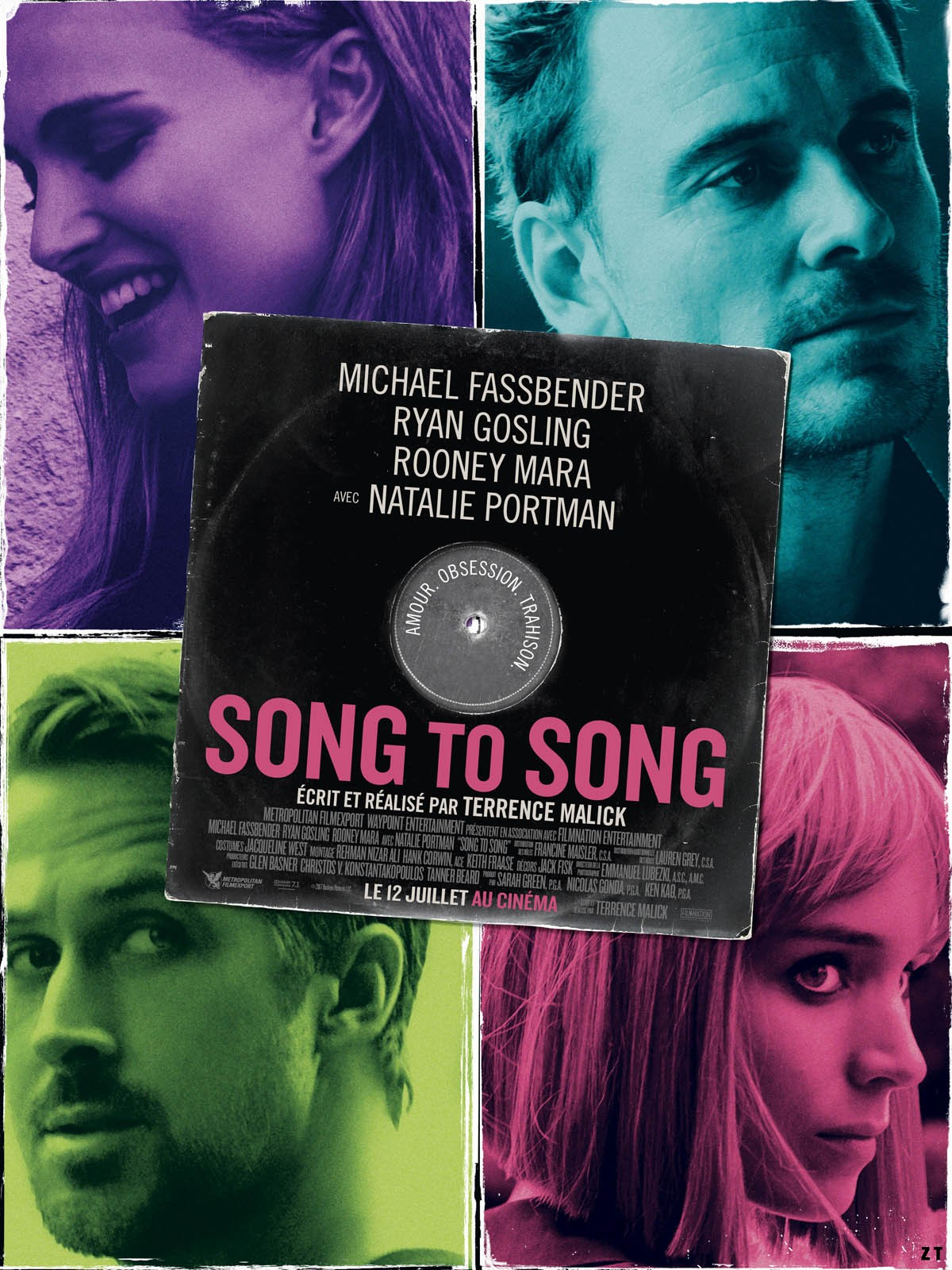 Song To Song FRENCH BluRay 1080p 2017