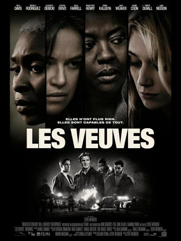 Les Veuves (Widows) FRENCH DVDSCR 720p 2018