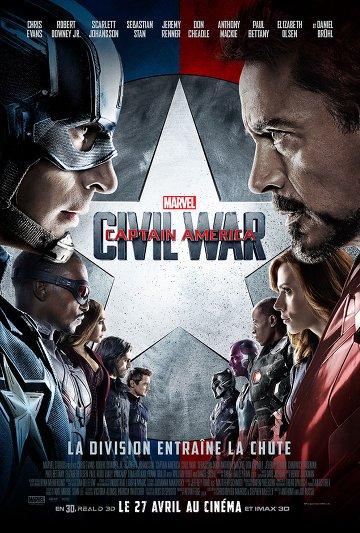 Captain America: Civil War FRENCH DVDRIP x264 2016