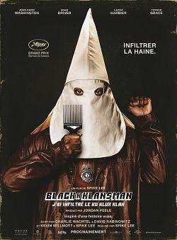 BlacKkKlansman - J'ai infiltré le Ku Klux Klan FRENCH BluRay 720p 2018