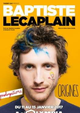 Baptiste Lecaplain - Origines FRENCH HDTV x264 2017
