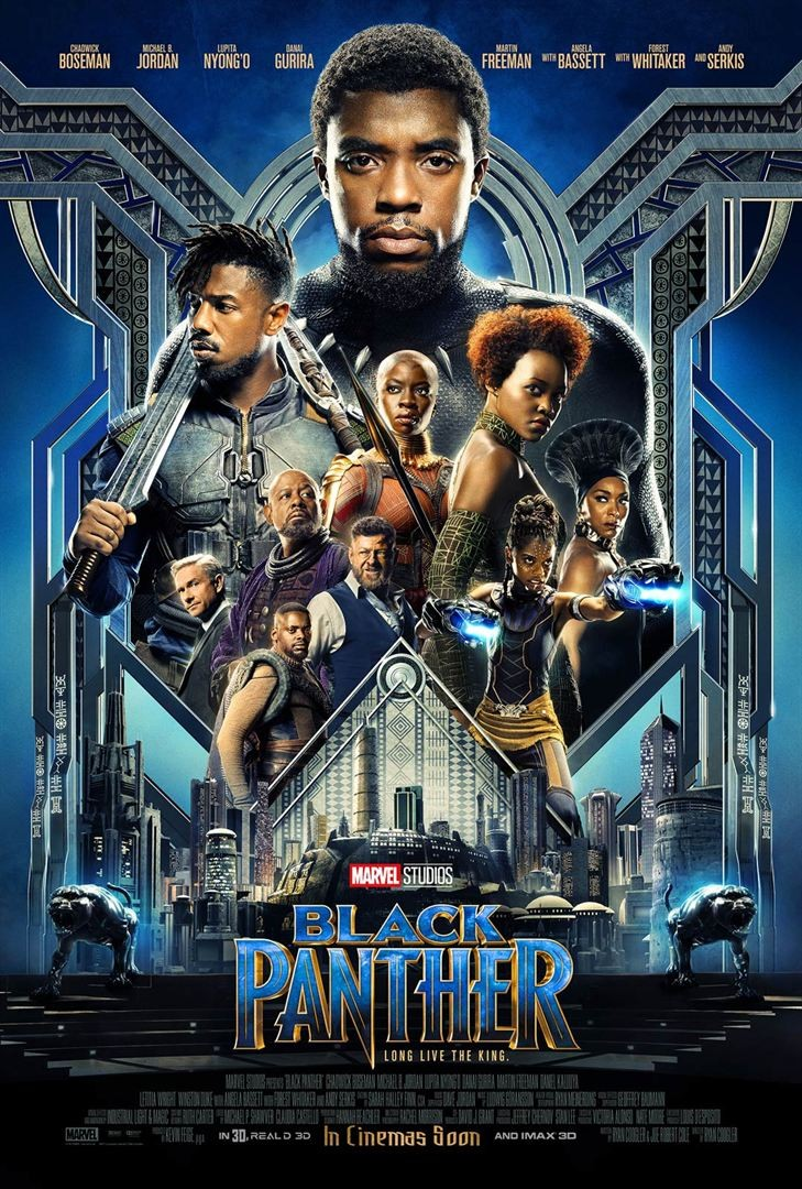 Black Panther FRENCH TS 2018