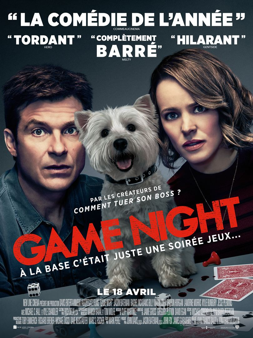 Game Night FRENCH DVDRIP 2018