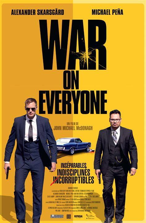War On Everyone FRENCH DVDRIP 2017