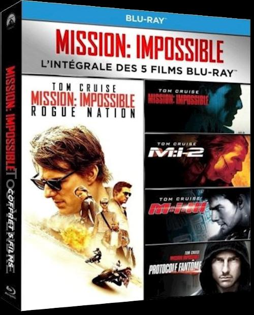 Mission Impossible (5 Films) FRENCH HDlight 1080p 1996-2015