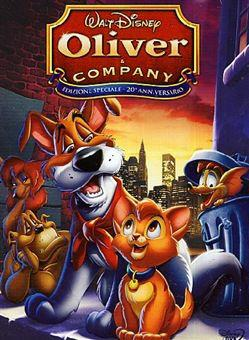 Oliver et compagnie FRENCH HDlight 1080p 1988