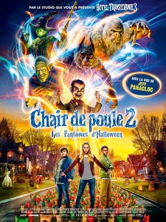 Chair de poule 2 : Les Fantômes d'Halloween FRENCH BluRay 720p 2018