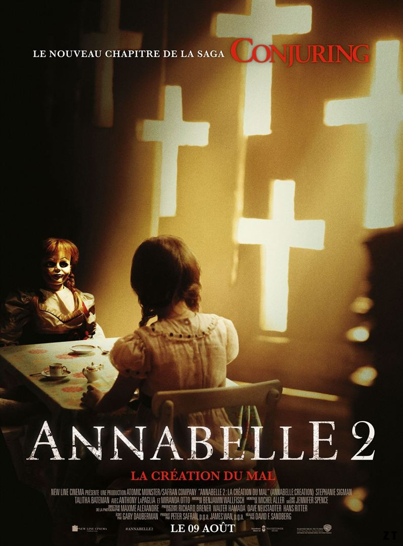 Annabelle 2 : la Création du Mal FRENCH BluRay 1080p 2017