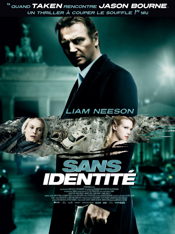 Sans identité (Unknown) FRENCH HDlight 720p 2011