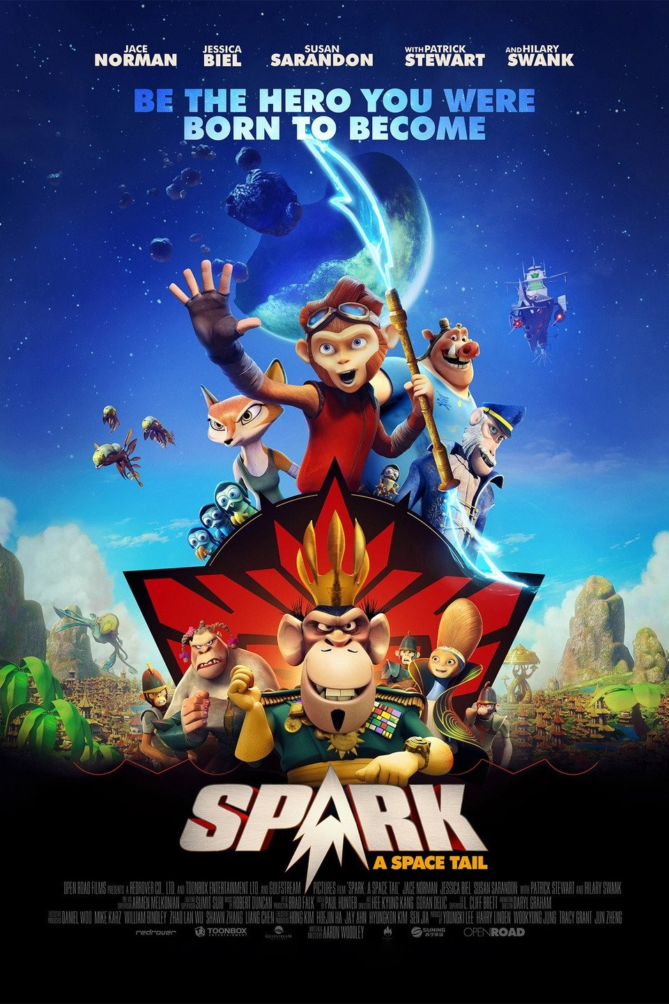 Spark: A Space Tail FRENCH DVDRIP 2017