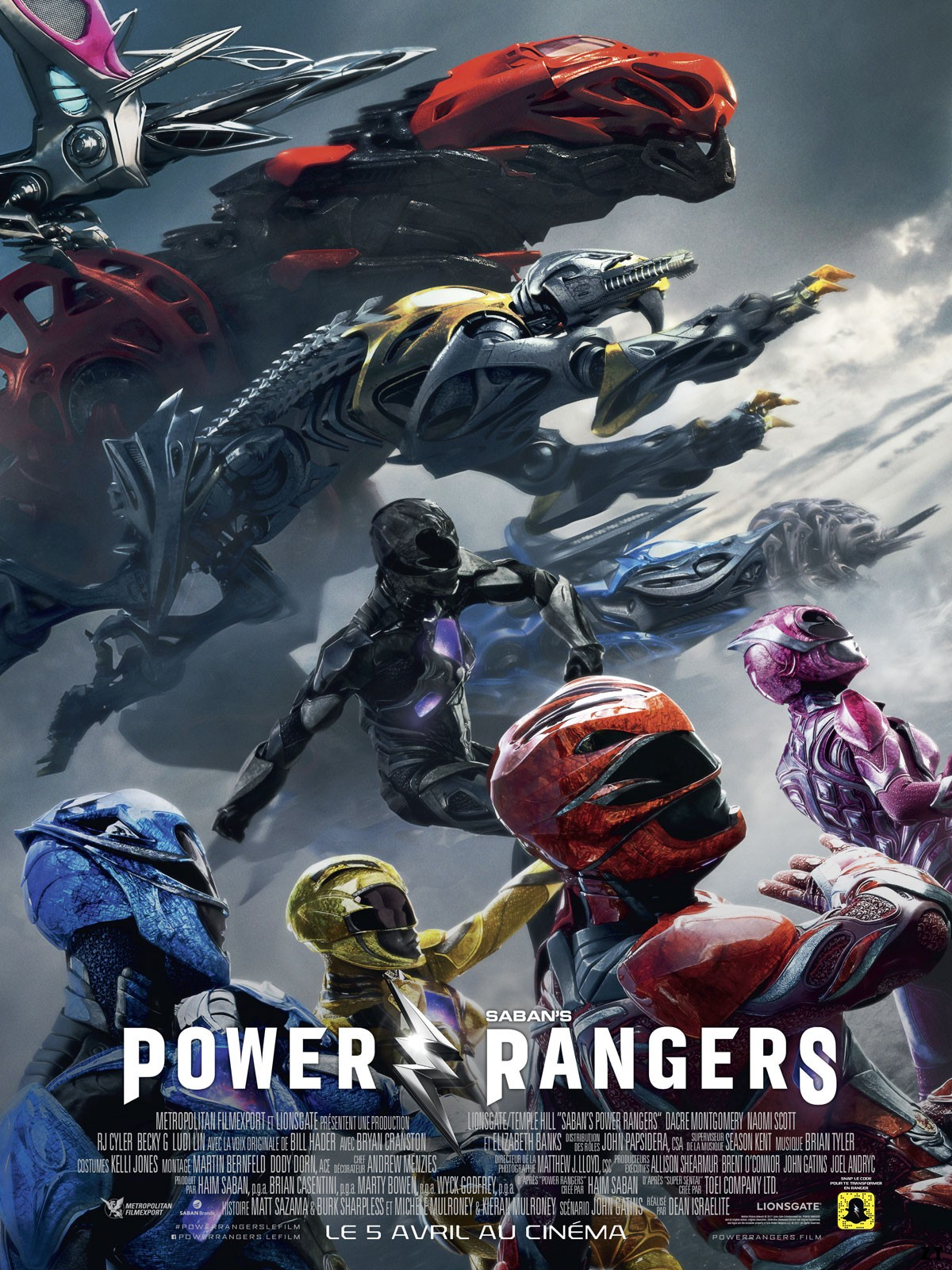 Power Rangers TRUEFRENCH DVDRIP 2017